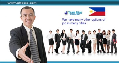 TEAM ALTAS – We have many other options of job in many cities.