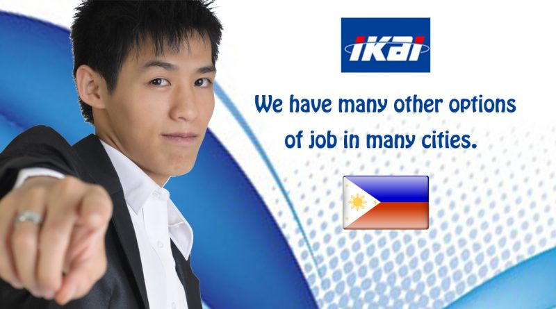 IKAI PRODUCT – We have many other options of job in many cities.